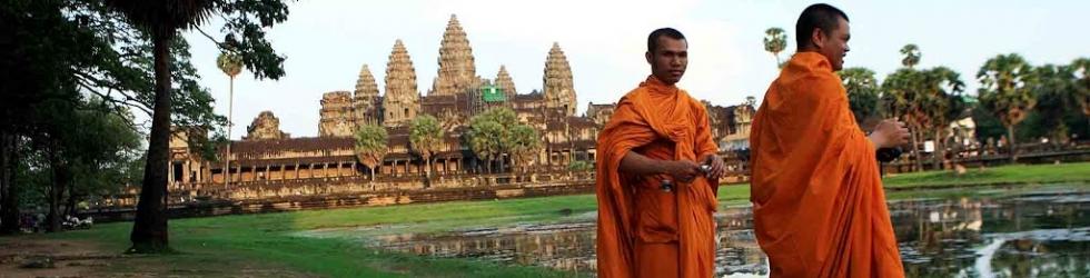 Monjes Budistas, Angkor Wat III